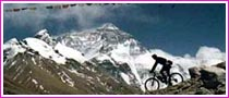 Mountain Biking in the Annapurna Circuit